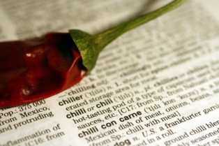 Dictionary with Chilli